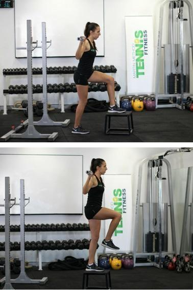 Uni- lateral Power in tennis