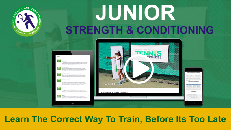 Junior tennis Strength and Conditioning
