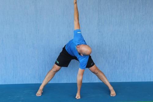 Tennis Yoga Pose - ACE POSE