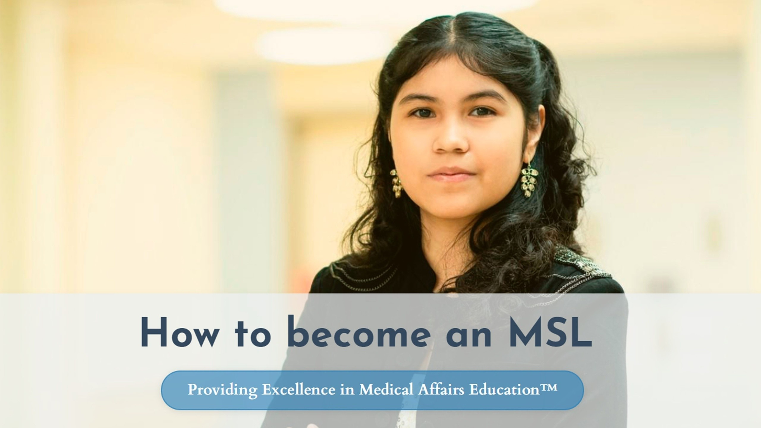 How to become an MSL