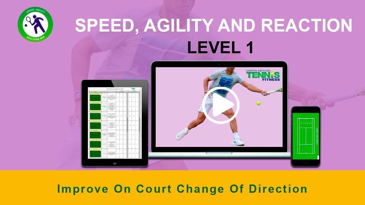 tennis speed drill