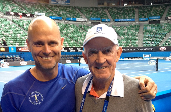 IMAGE OF TENNIS FITNESS AND TONY ROCHE