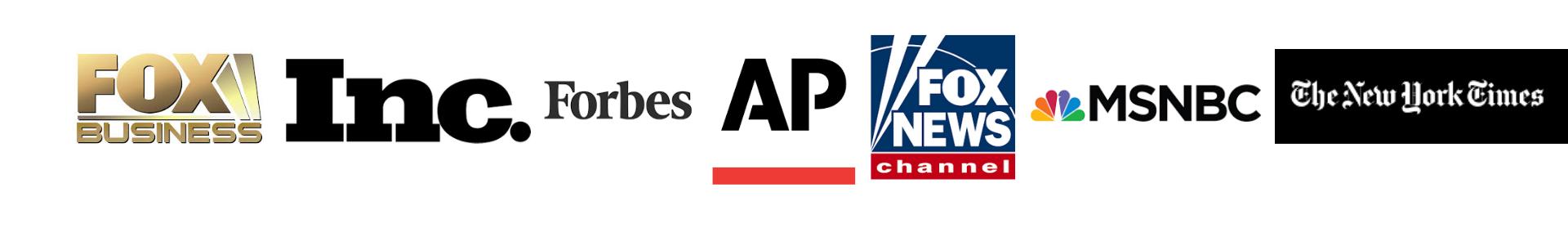 fox, forbes, AP, fox news, msnbc, new york times