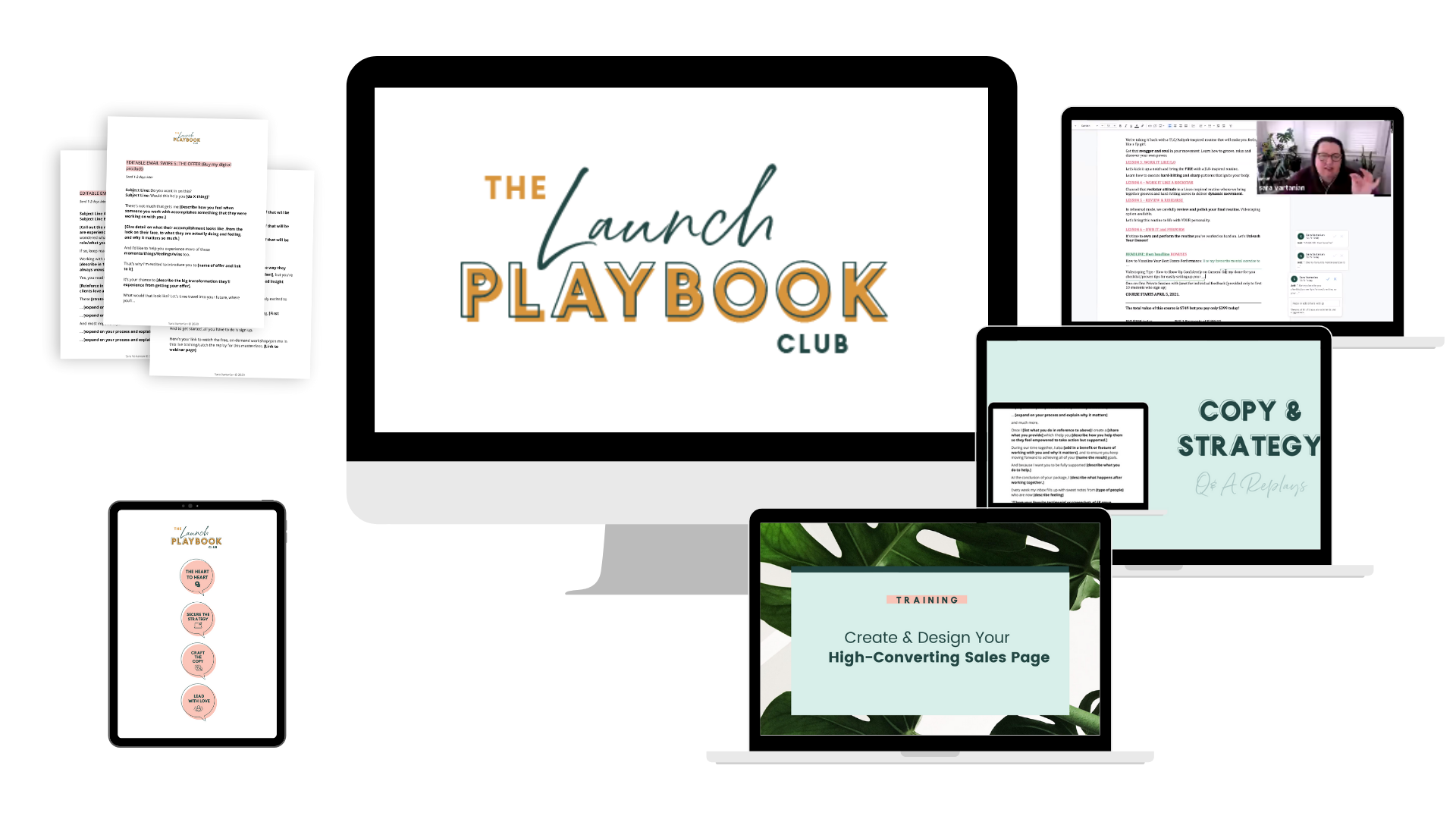 The Launch Playbook Club