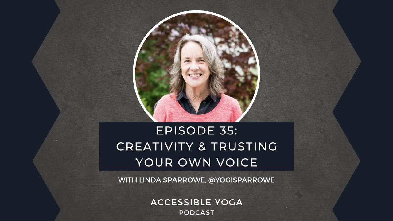 Episode 35: Creativity & Trusting Your Own Voice with Linda Sparrowe