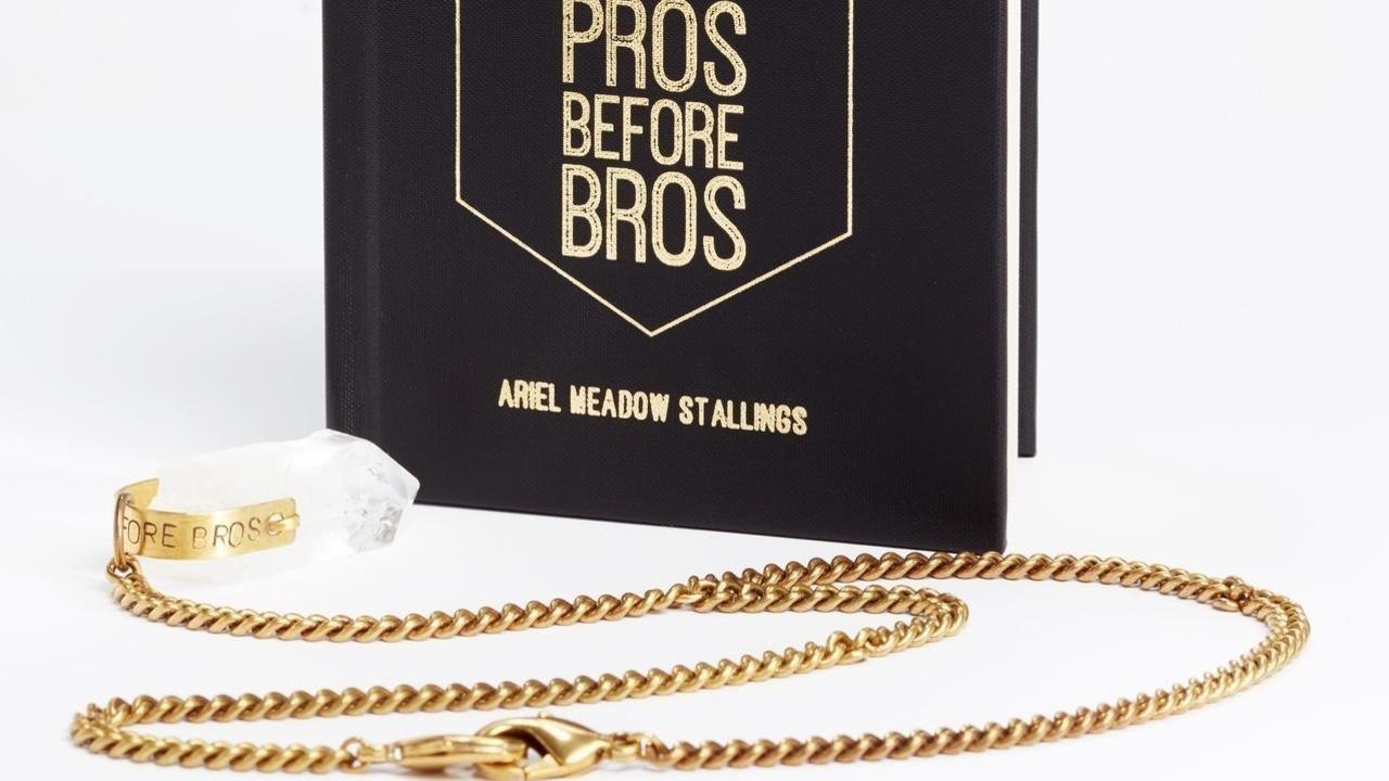 Pros Before Bros + crystal lariat pairing