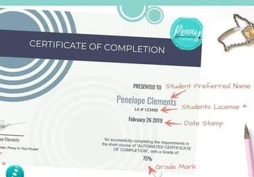 Sending Certificate in Kajabi