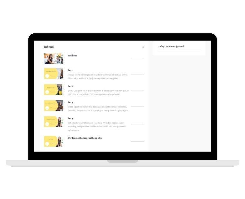 e-cursus Conceptual Feng Shui, Feng Shui Academie, online leren