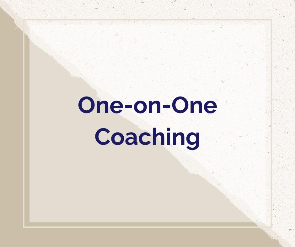 Kristen Fragnoli, One-on-One Coaching