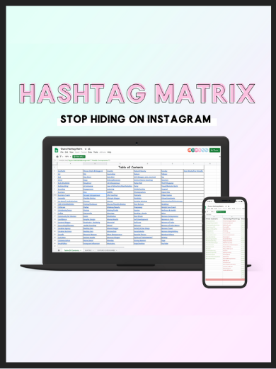 The Hashtag Matrix
