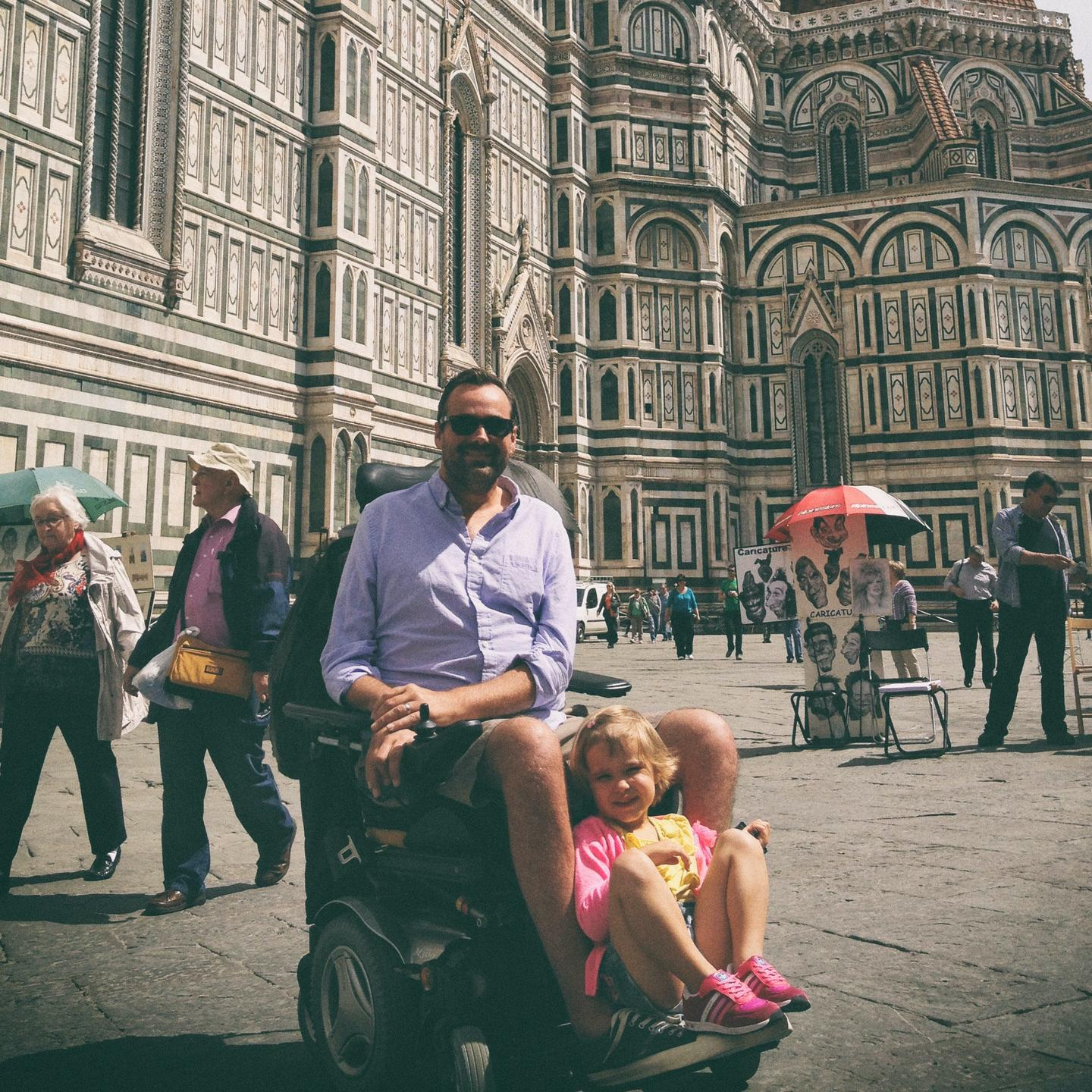 Justin in Florence