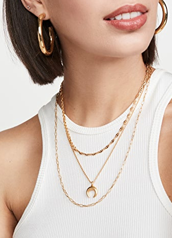 Madewell Mixed Link Short Necklace