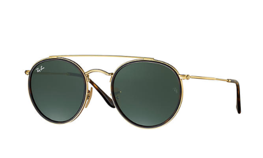 ray ban THE ROUND DOUBLE BRIDGE