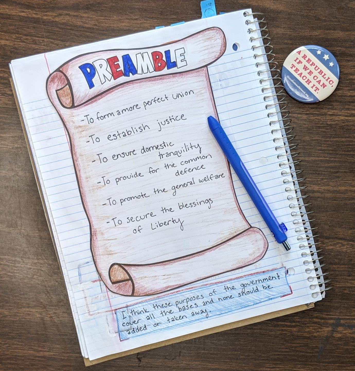 civics and government lesson plans
