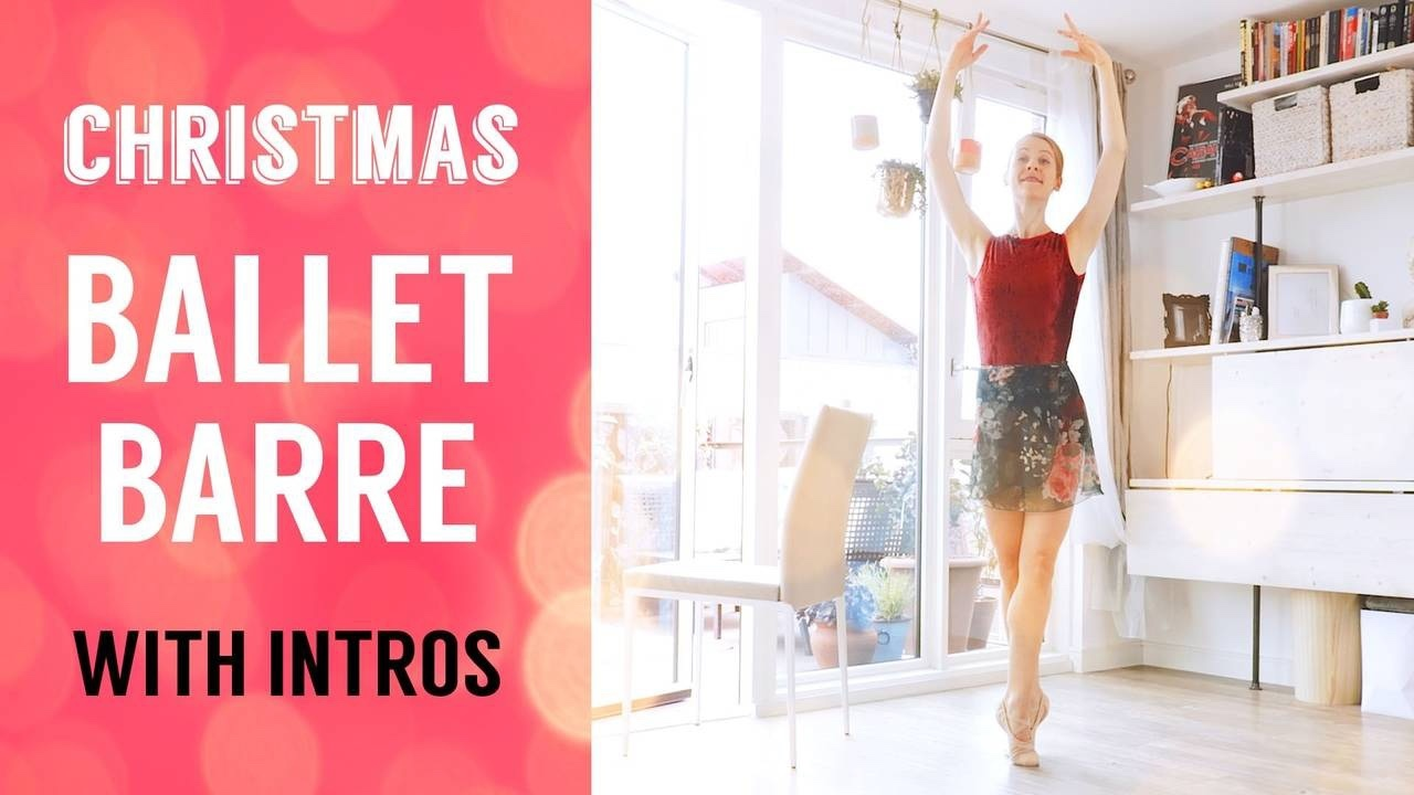 Christmas Ballet Barre