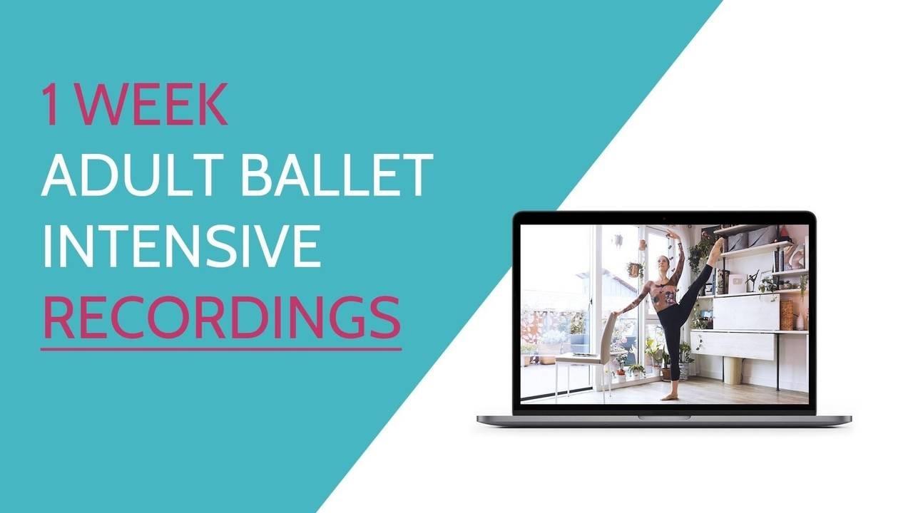 Adult Ballet Intensive
