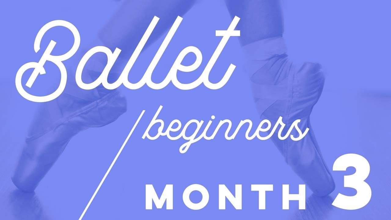 Beginner Ballet Plan