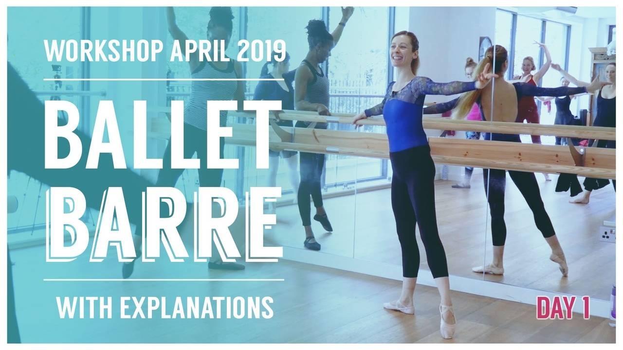 Ballet Barre Live Workshop