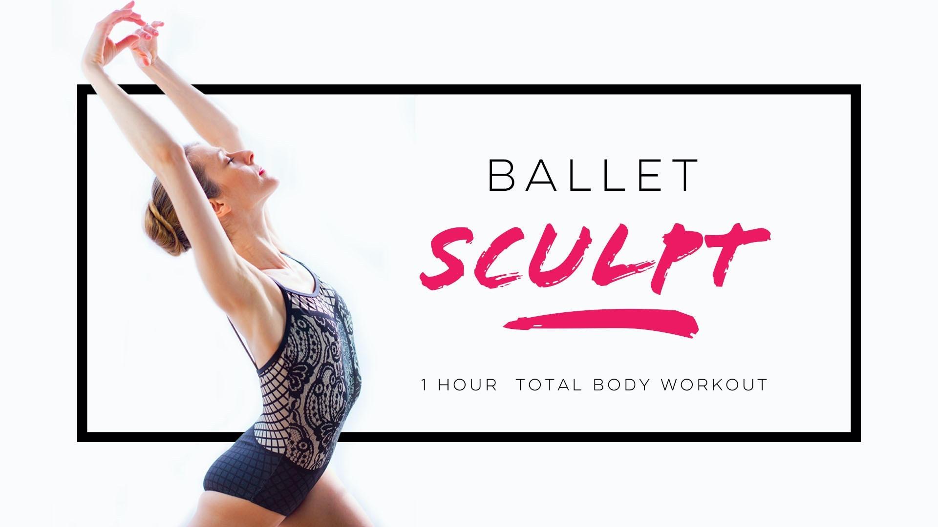 Ballet Sculpt Program - 1h Ballet Fitness