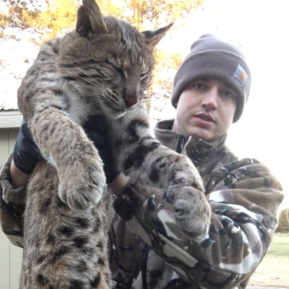 Matt Sot - RPA member with a bobcat