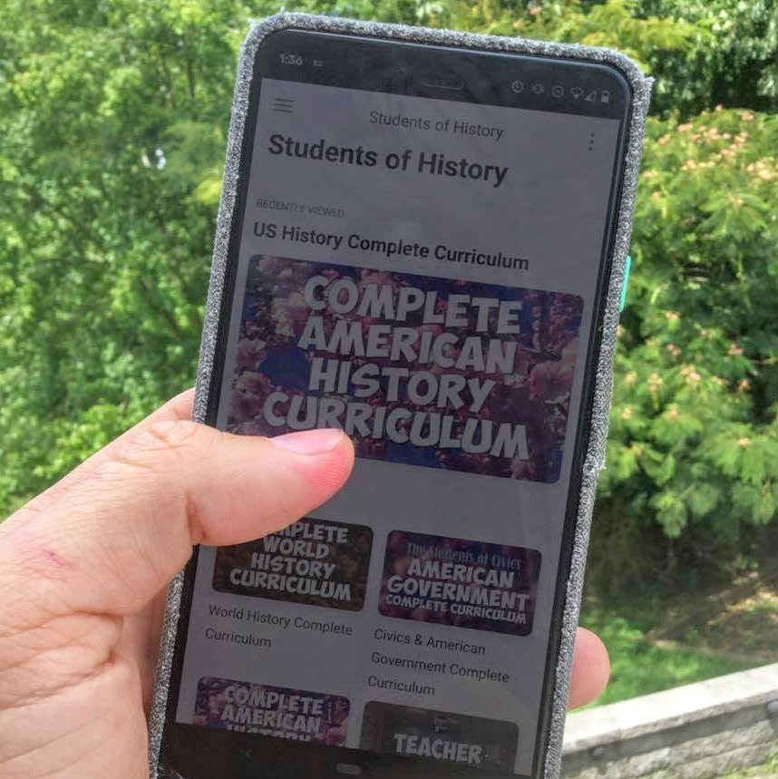 students of history teaching resources