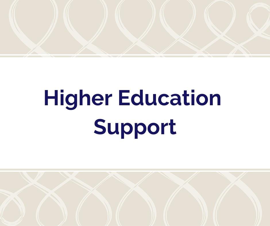 Kristen Fragnoli, Higher Education Support