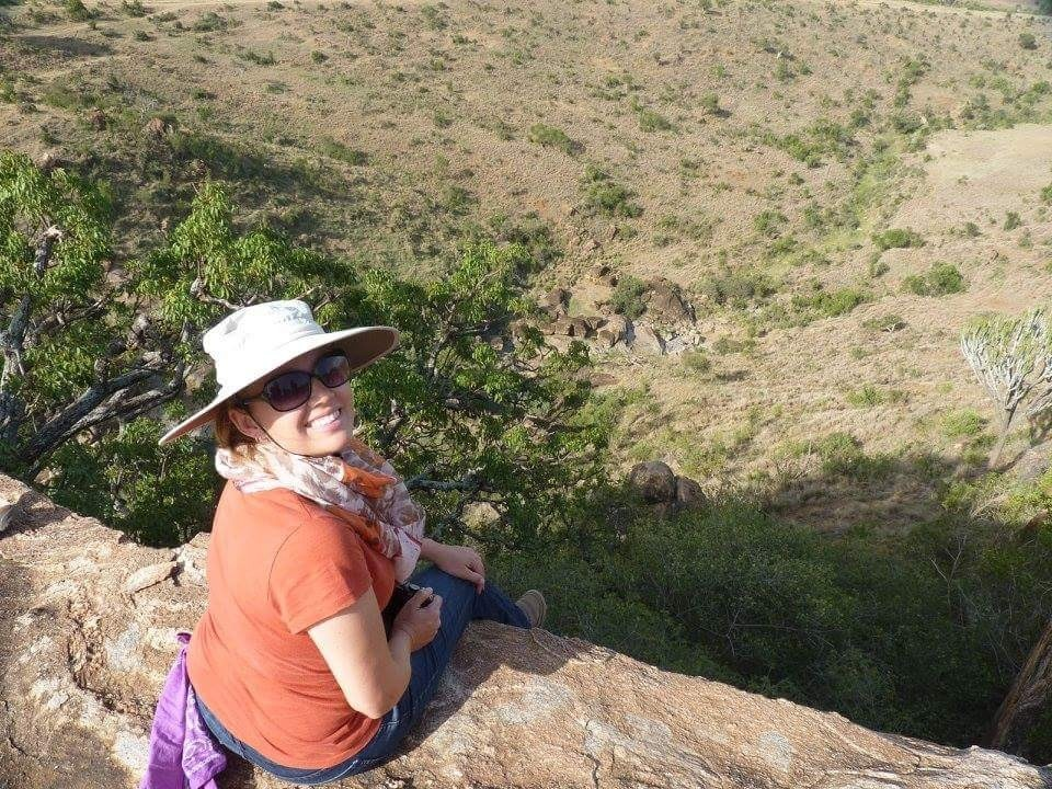 Visiting Kenya with a group of other environmental scientists and Biologist in 2015