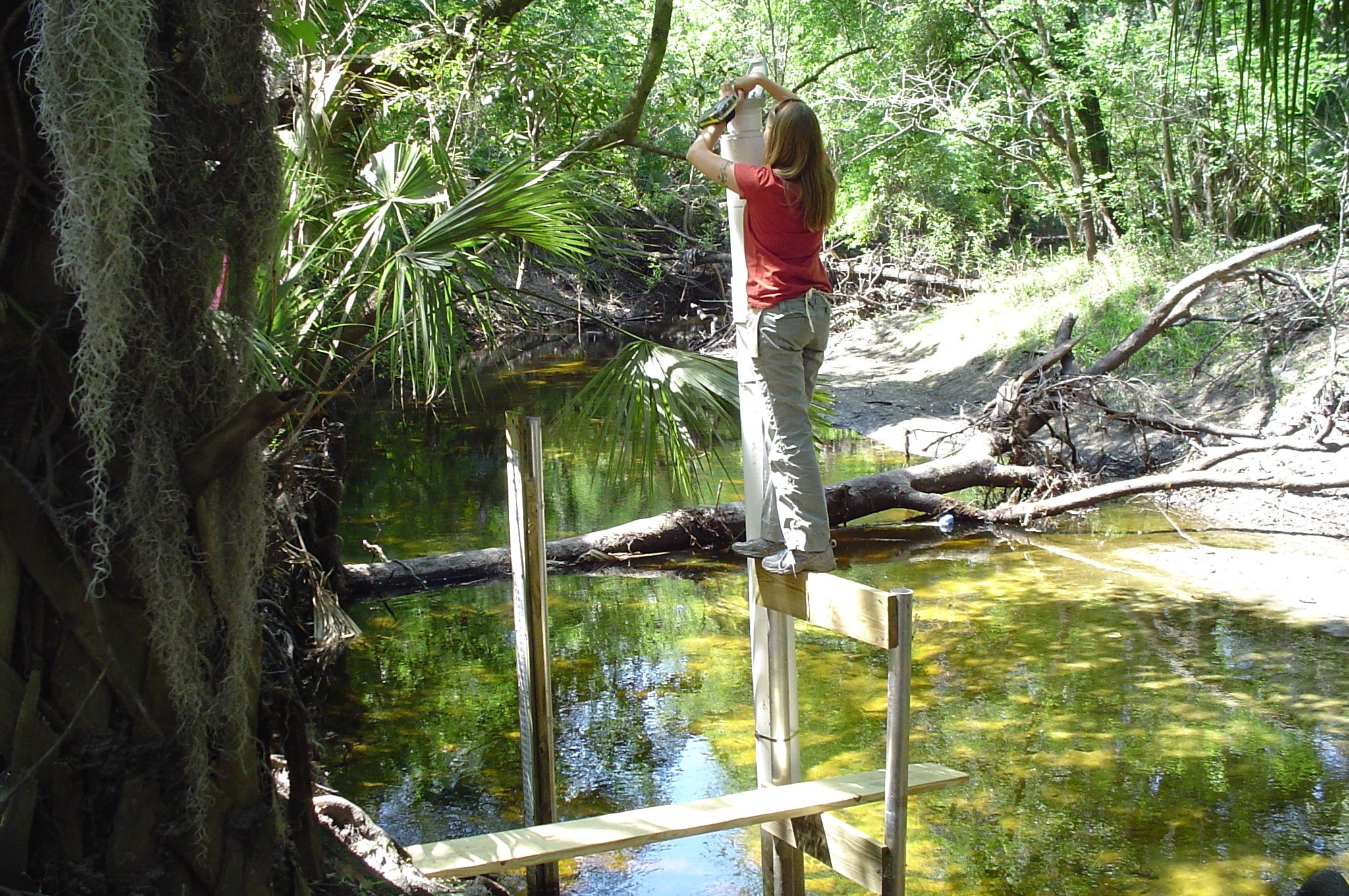 Environmental field hydrology work