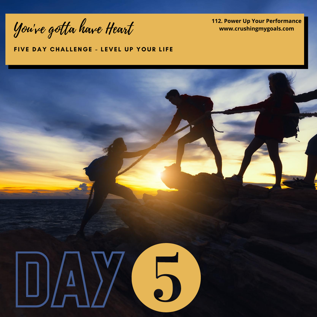 Day 5 - Level Up Your Life