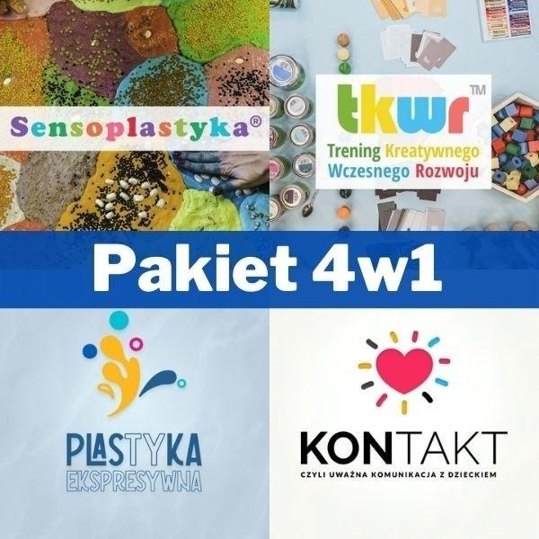 Szkoleniowy Pakiet 4w1 (Sensoplastyka®, TKWR™, Plastyka Ekspresywna™ i