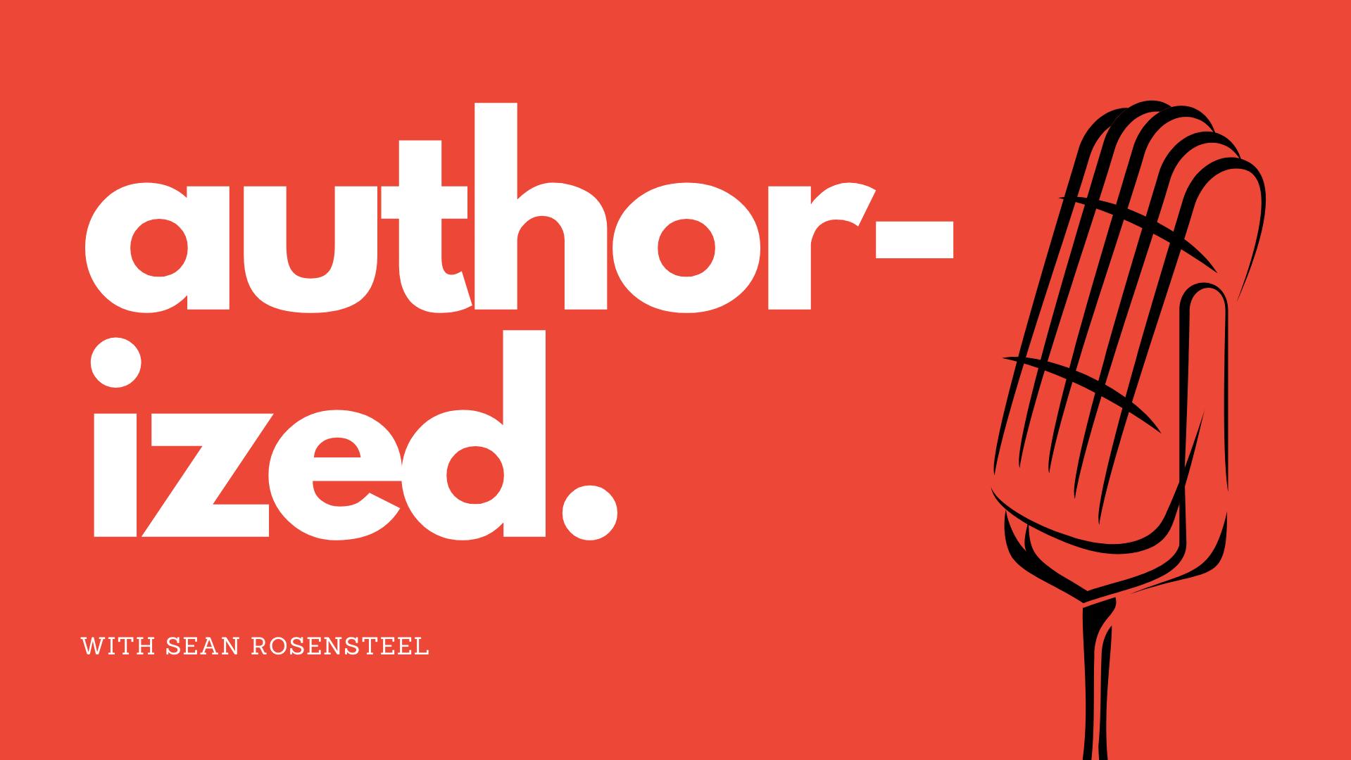 author-ized. banner