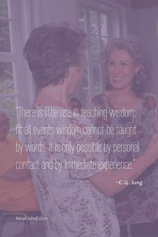 embodied learning, quote C.G.Jung, beroepsopleiding, Conceptual Feng Shui, Nina Elshof, Feng Shui Academie