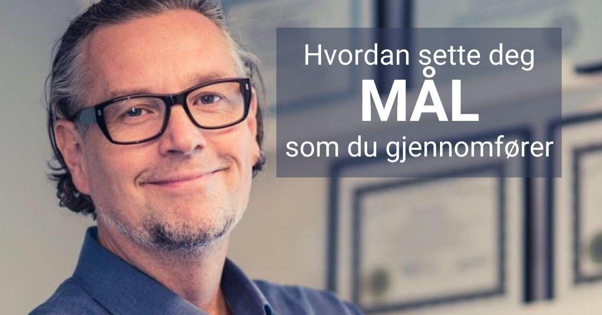 Mål med Pål. Gratis videoserie om målsetting med Pål Kleven-Fredriksen sammen med MetaResource