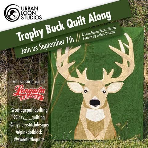 Trophy Buck Quilt Along image