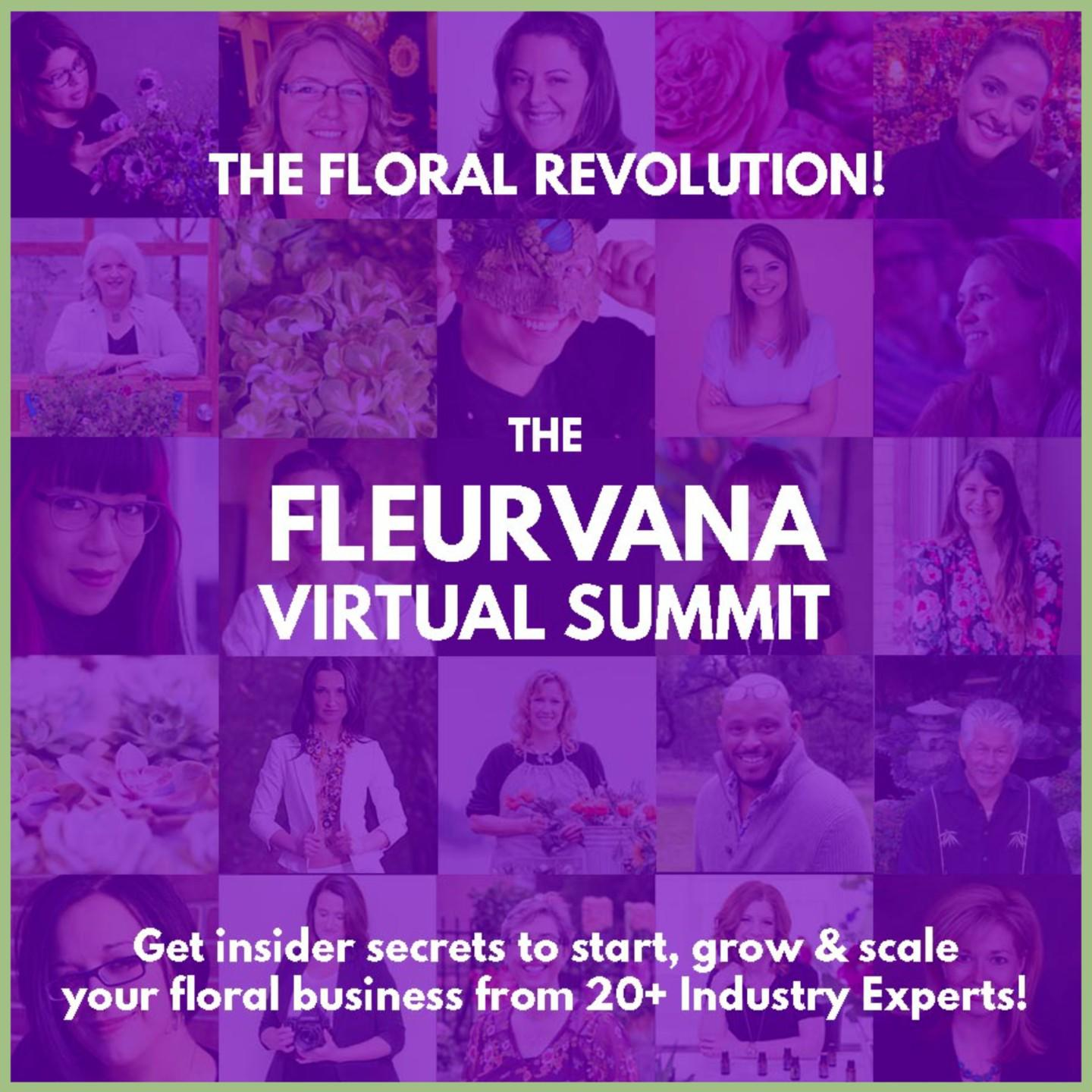 Fleurvana Virtual Floral Summit Ticket