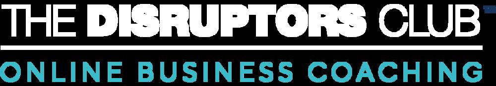 The Disruptors Club Online Business Coaching Logo