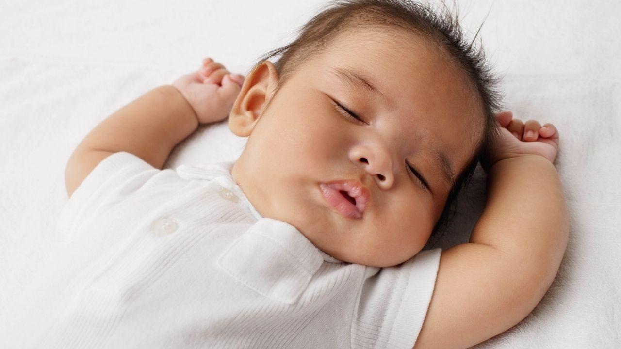baby sleeping after sleep coaching