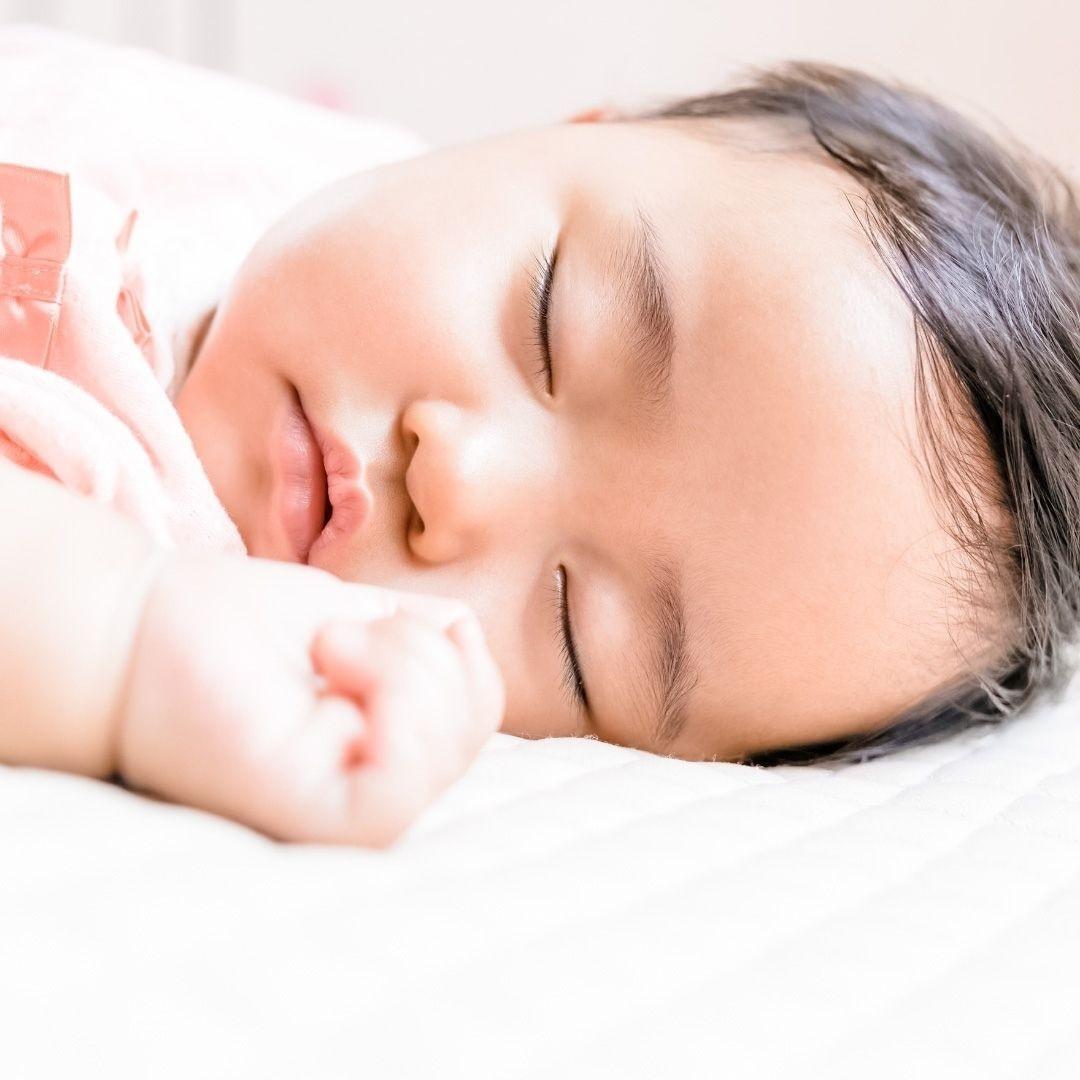 baby sleeping well