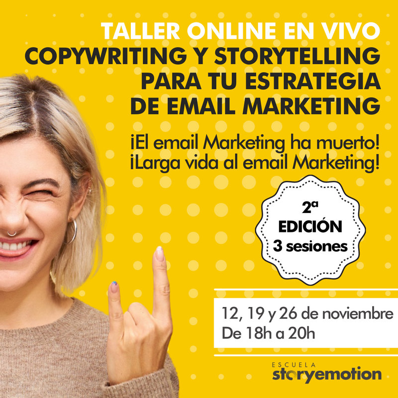 Curso de Copywriting y Storytelling para tu email marketing