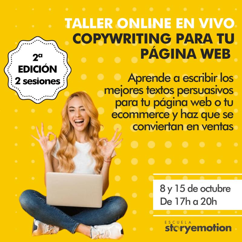 Curso de Copywriting para tu web