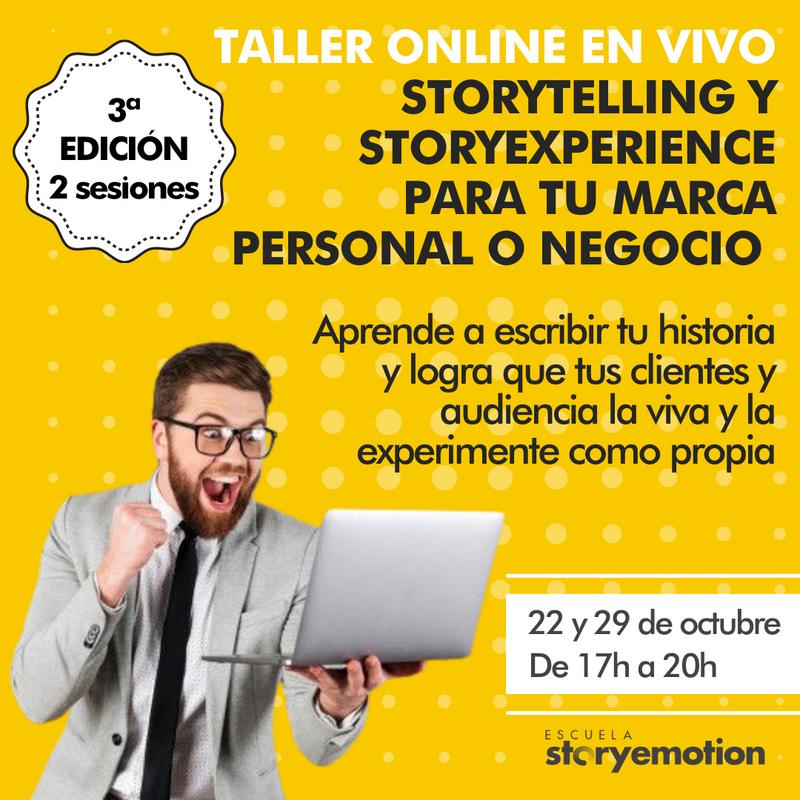 Curso de Storyexperiencie