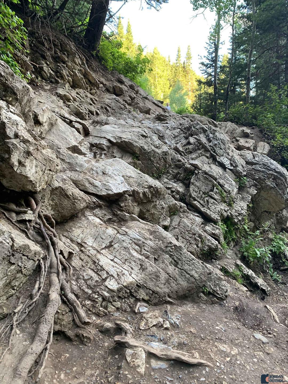 Donut Falls Rocks