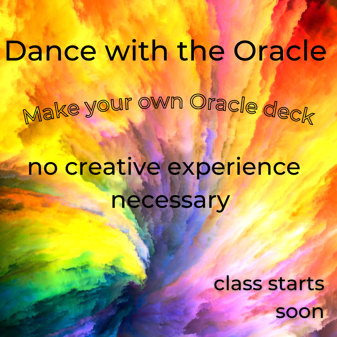 colorburst dance with the oracle, make your own oracle deck