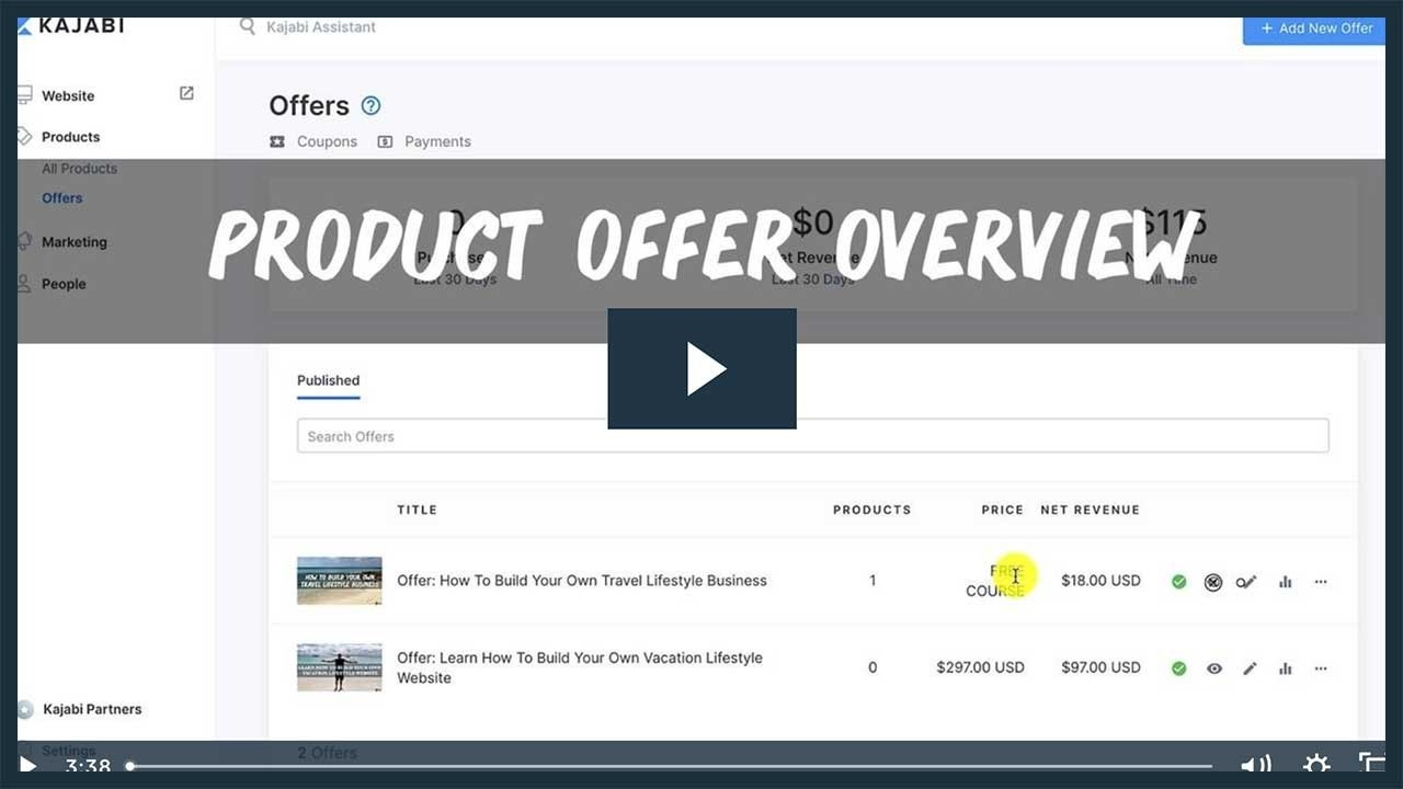 Setting Up Your Product Offer for your Online Course