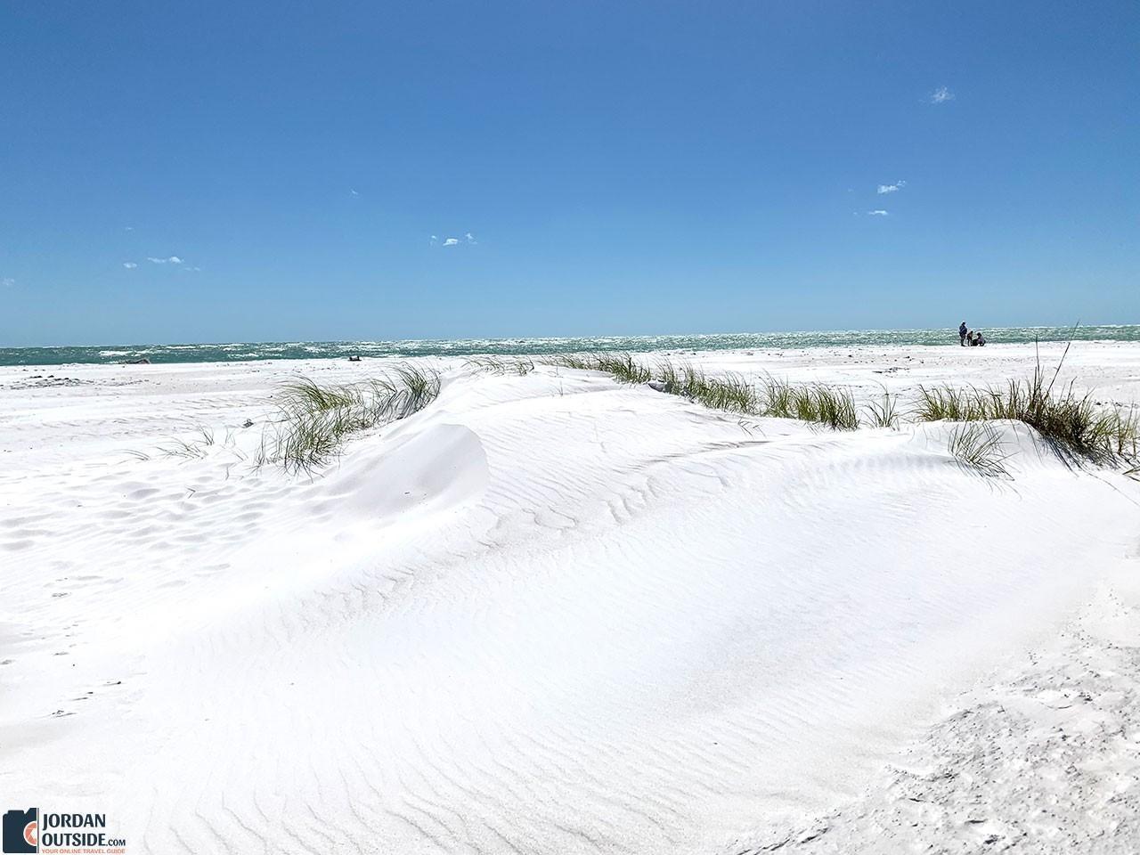 Bean Point Beach White Sand