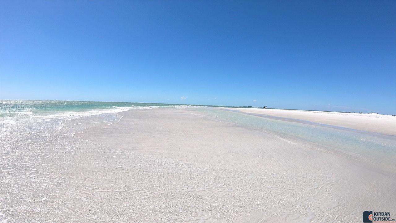 Sandbar at Bean Point Beach