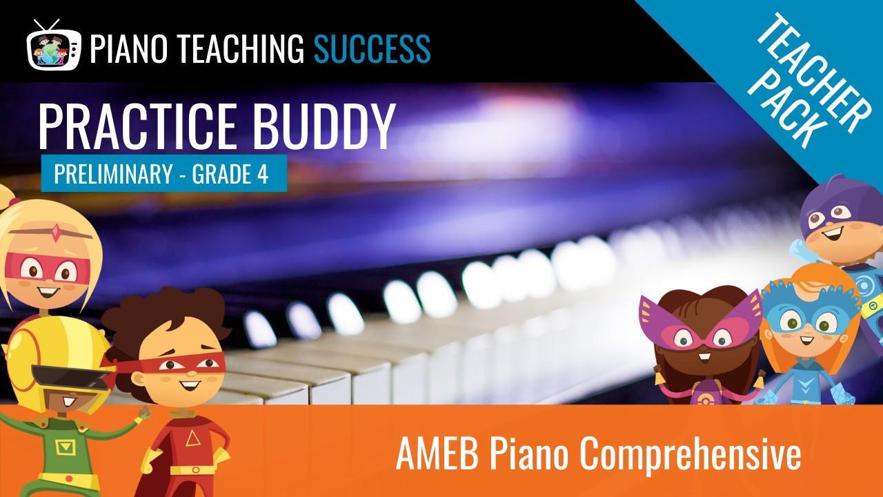 PRACTICE BUDDY AMEB Teacher Pack