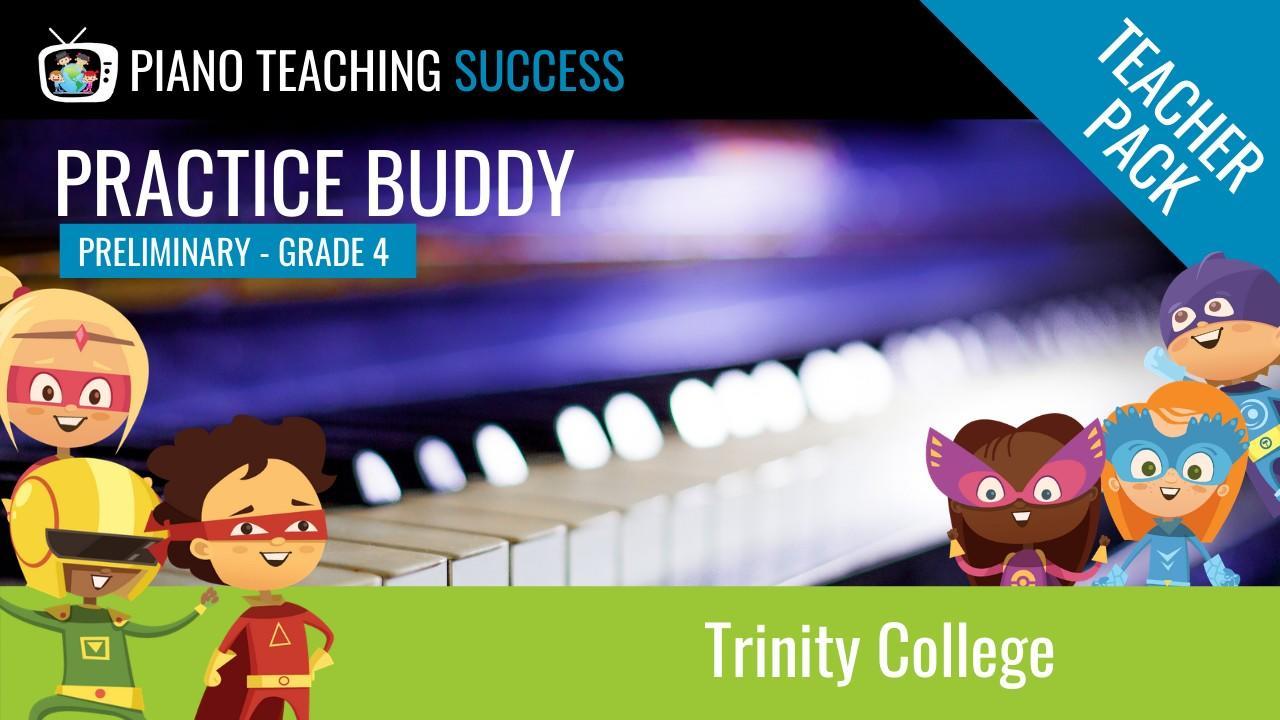 Trinity College Practice Buddy Teacher Pack
