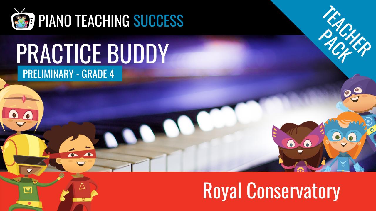 Royal Conservatory Practice Buddy Teacher Pass