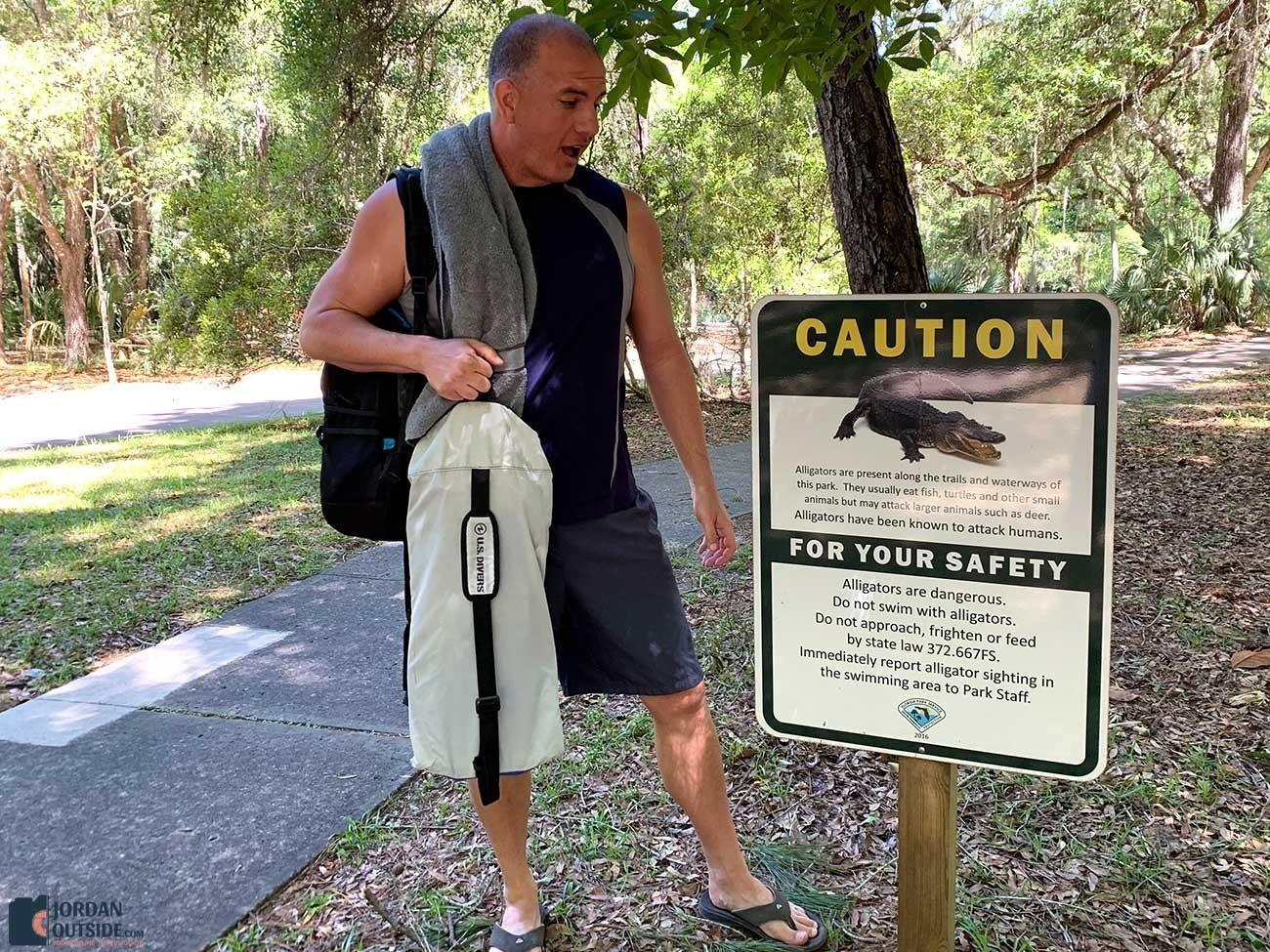 Watch out for alligators